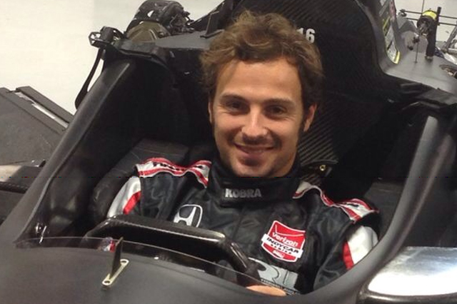 Luca Filippi in Indycar con CFH Racing