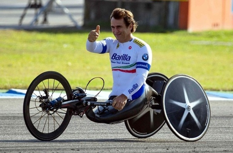 Incidente con la handbike per Zanardi