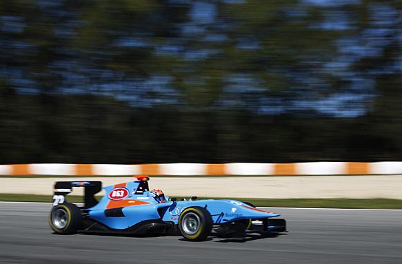 Test GP3 Estoril, giorno 2: Boschung ottiene il miglior tempo