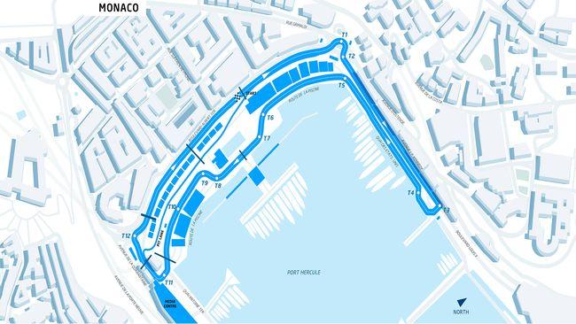 Formula E – Ufficiale il lay-out del tracciato di Montecarlo