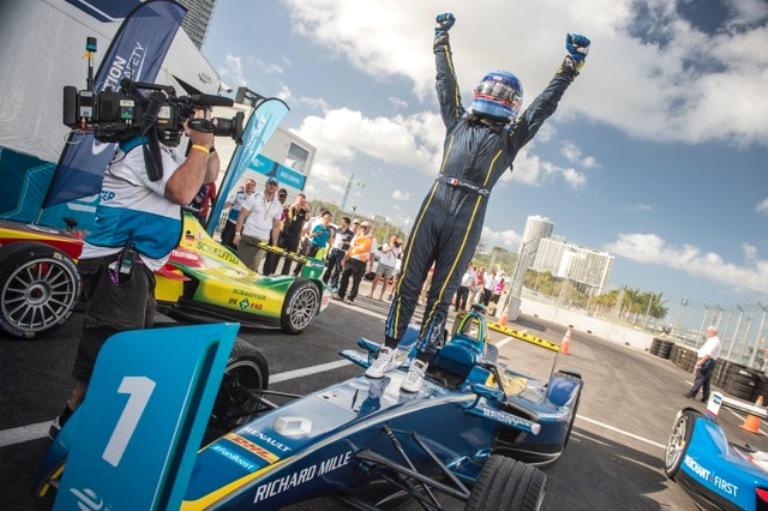 Formula E – Positivo il weekend di Miami per Renault