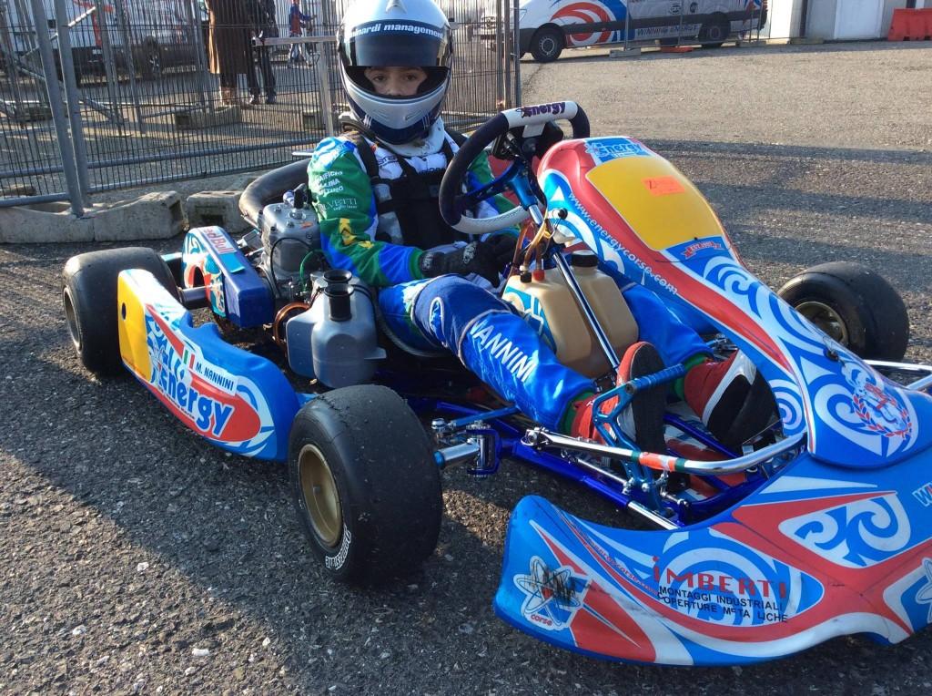 Kart – Debutto con podio per Matteo Nannini nella Rok Nord 60