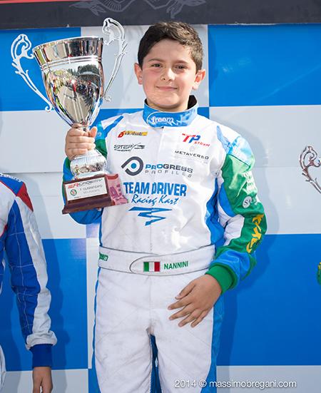 Kart – Minardi Management, benvenuto Matteo