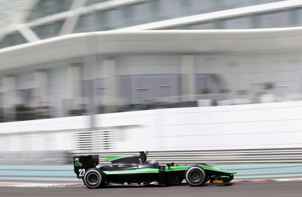 GP2 – Richie Stanaway in Bahrein con Status GP