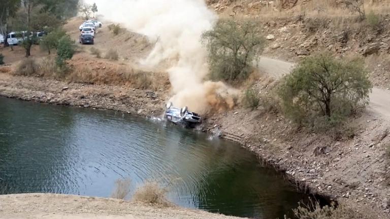 WRC – Per Tänak solo un grande spavento
