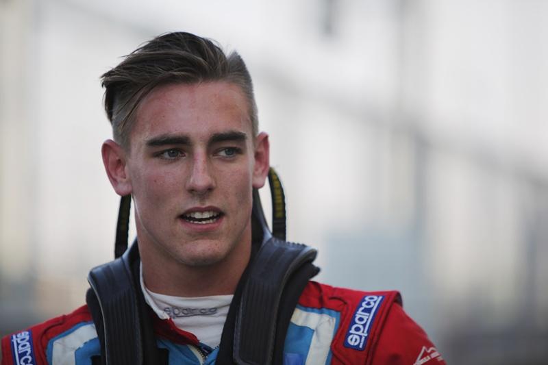 Kevin Ceccon in GP3 con Arden nel 2015