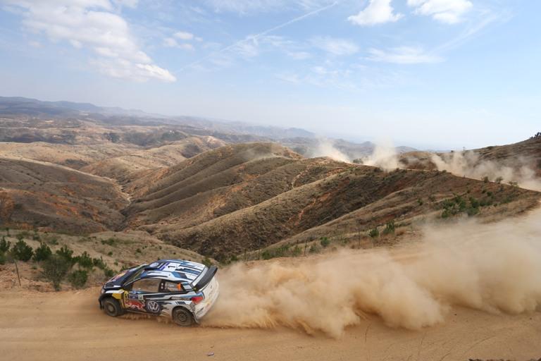 WRC – Ogier chiude in testa la prima giornata messicana