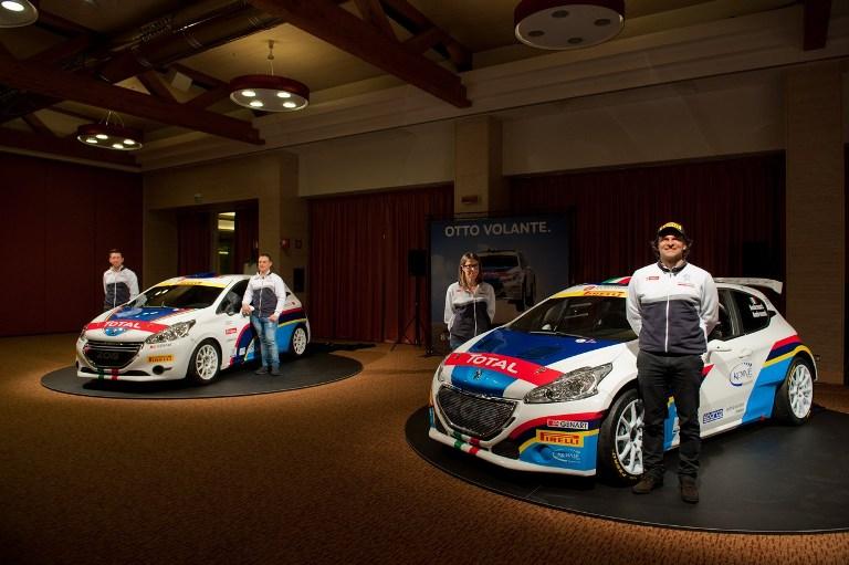 CIR – Peugeot scalda i motori in vista del Rally de Il Ciocco