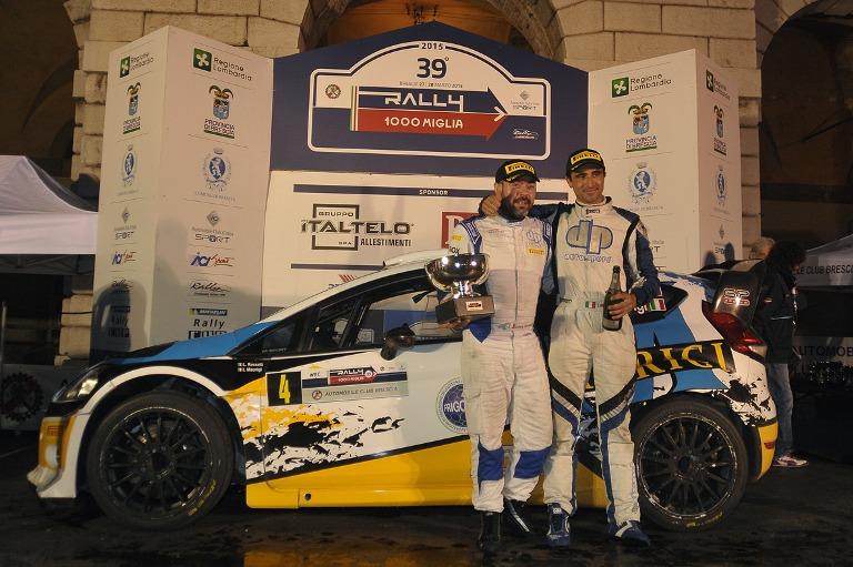 Rossetti vince il Rally 1000 Miglia