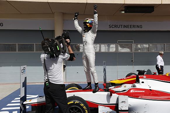 GP2 Bahrein, gara 1: Successo di Vandoorne