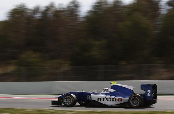 GP3 test Barcellona, giorno 1: Svetta Jann Mardenborough