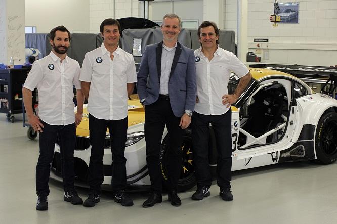 Il trio Zanardi-Glock-Spengler guiderà una BMW alla 24 ore di Spa