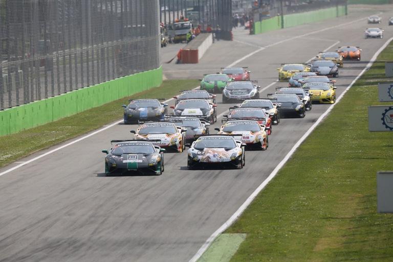 Lamborghini Blancpain Super Trofeo Europa in scena a Monza