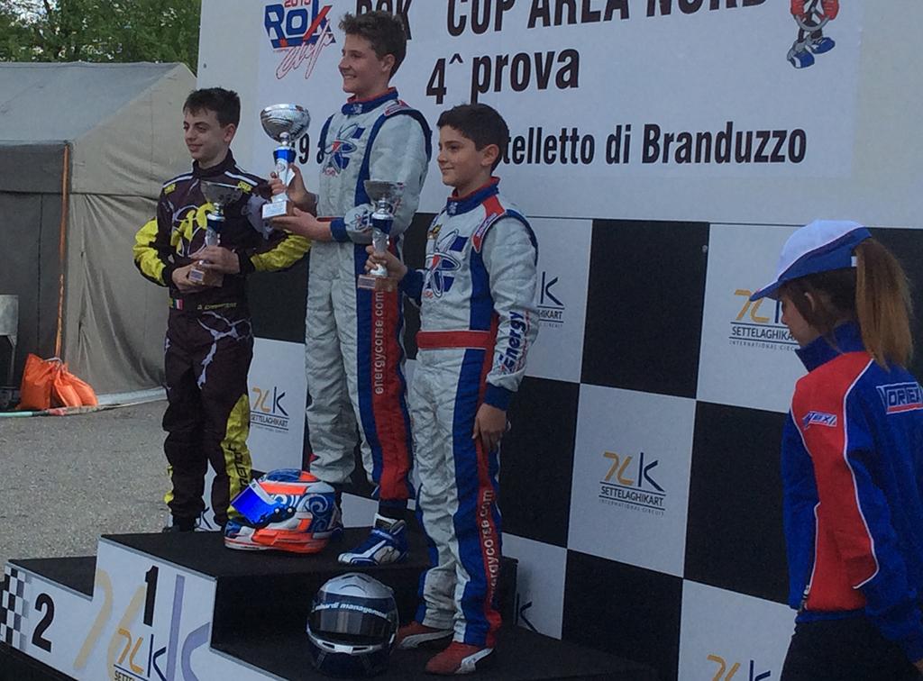 Kart – Battesimo con podio per Matteo Nannini in KFJ