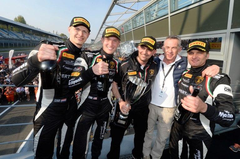 Blancpain Endurance Series – La Lamborghini vince la 3 Ore di Monza