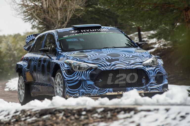 WRC – Hyundai prova la i20 di nuova generazione