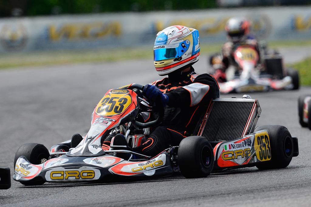 Kart – Positivo avvio di Riccardo Negro nel FIA-CIK KZ2