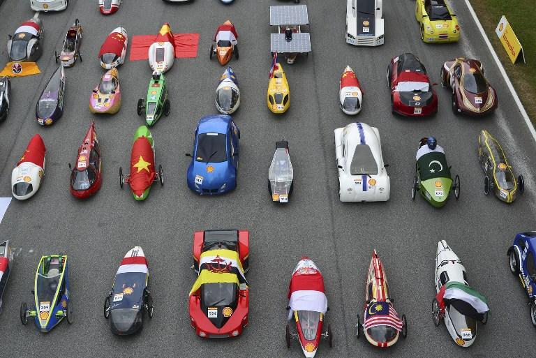La Shell Eco-Marathon compie trent'anni