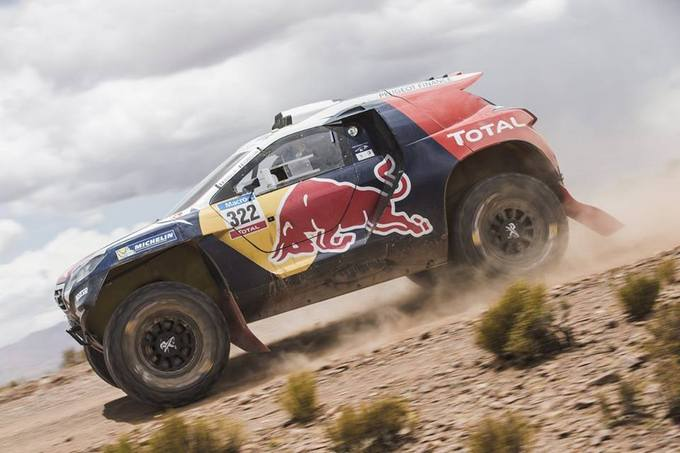 Peugeot 2008 DKR pronta per il China Grand Rally