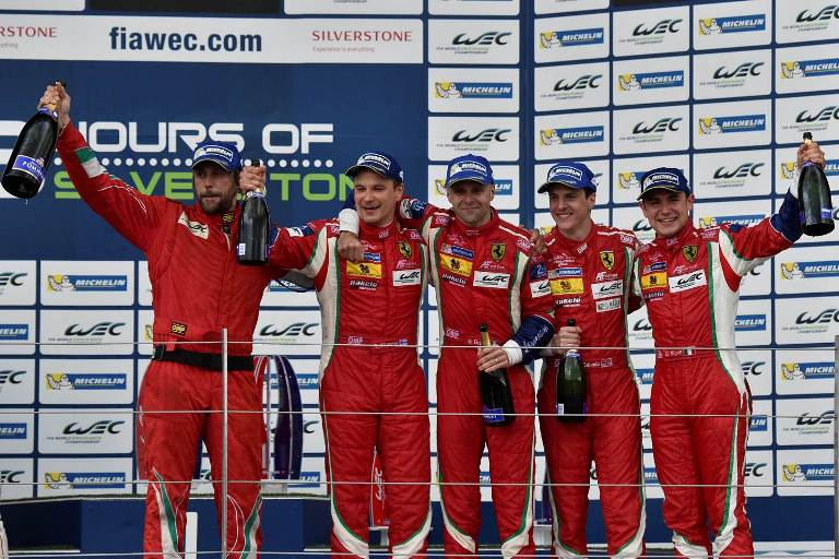 WEC – La Ferrari vince la 6 Ore di Silverstone