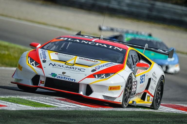 Lamborghini Blancpain Super Trofeo Europa – A Monza Kujala vince Gara 1