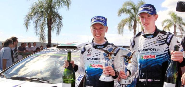 """WRC – Evans: """"Pazzesco salire sul podio in un rally tanto movimentato"""""""