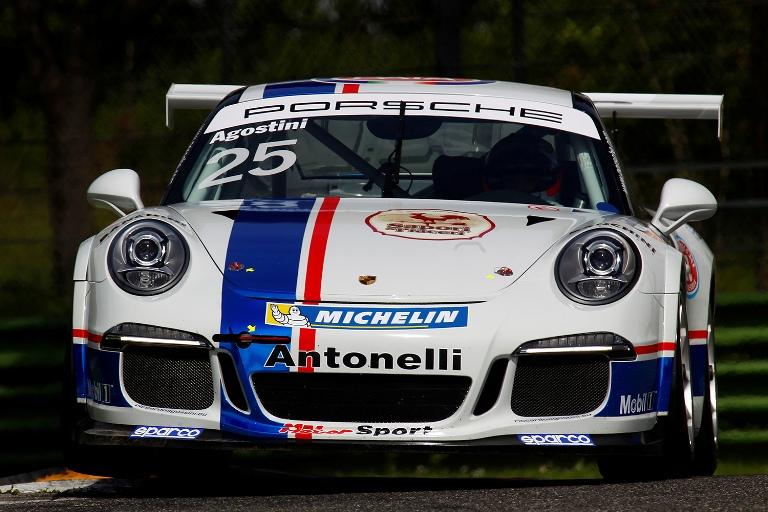 Porsche Carrera Cup Italia – Agostini il più veloce nello shakadown di Imola