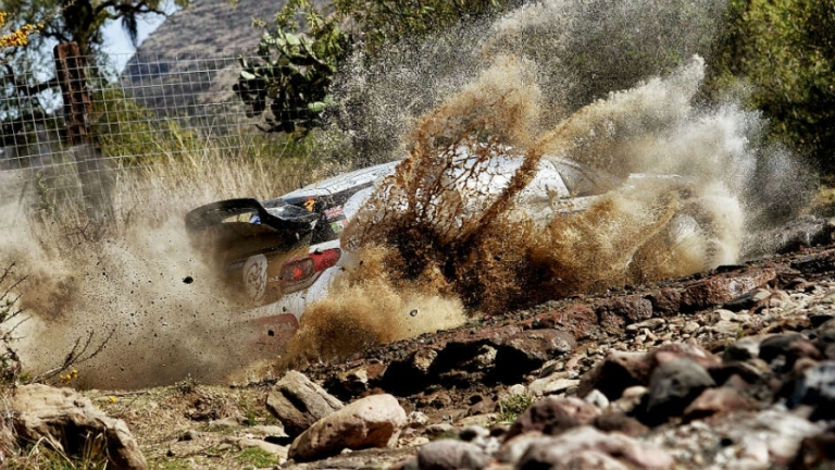 WRC – In Argentina Ogier e Meeke in testa nello shakedown