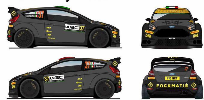 WRC – Bertelli cambia livrea