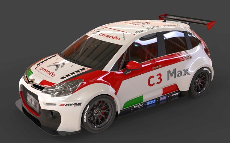 La Citroën C3 Max nel Campionato Italiano Turismo Endurance