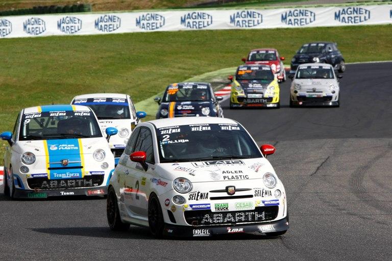 Trofeo Nazionale Acisport Abarth Selenia Italia – Lilja e Anselmi vincono a Vallelunga