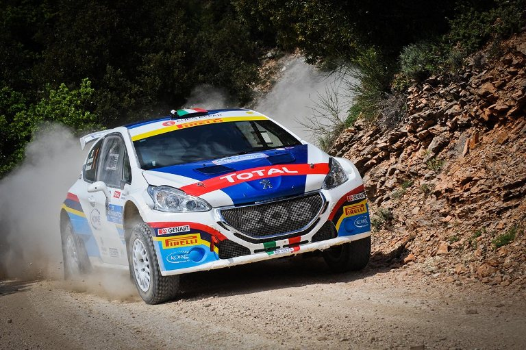 WRC – Andreucci protagonista in Sardegna