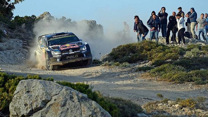 WRC – Ogier passa al comando in Sardegna