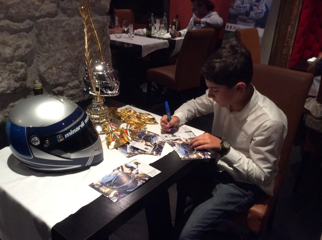 Matteo Nannini ad Adria con RB Racing