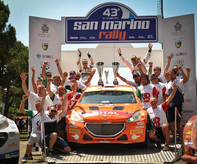 CIR – Andreucci vince il Rally di San Marino