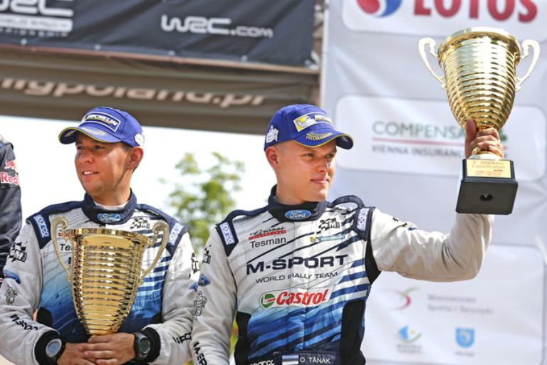 """WRC – Tänak: """"Sensazione incredibile salire sul podio"""""""