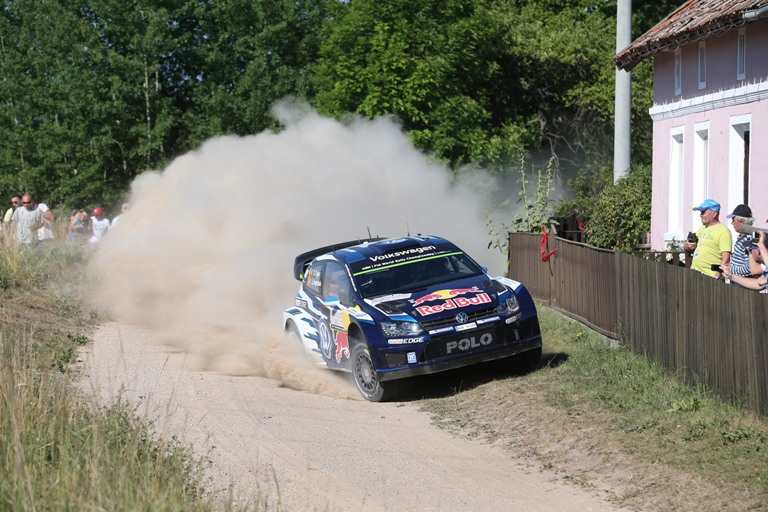 WRC – In Polonia è battaglia tra Ogier e Mikkelsen