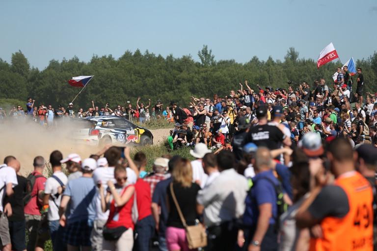 WRC – Ogier davanti anche dopo la super speciale di Mikolajki