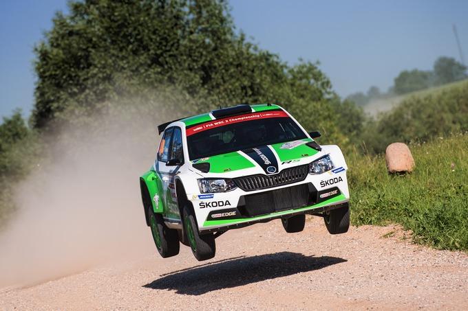 Lappi e Skoda davanti nel WRC2 in Polonia