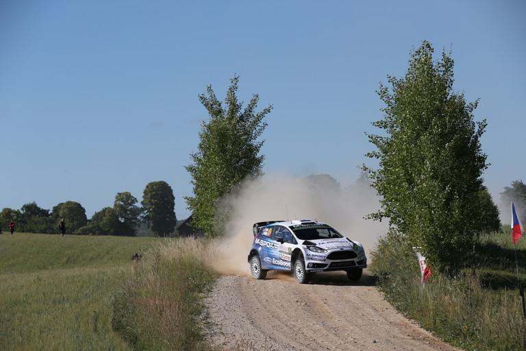 WRC – Tänak balza al top in Polonia