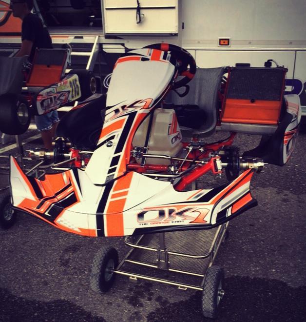 Kart – Negro e Vigorito a Le Mans con OK1