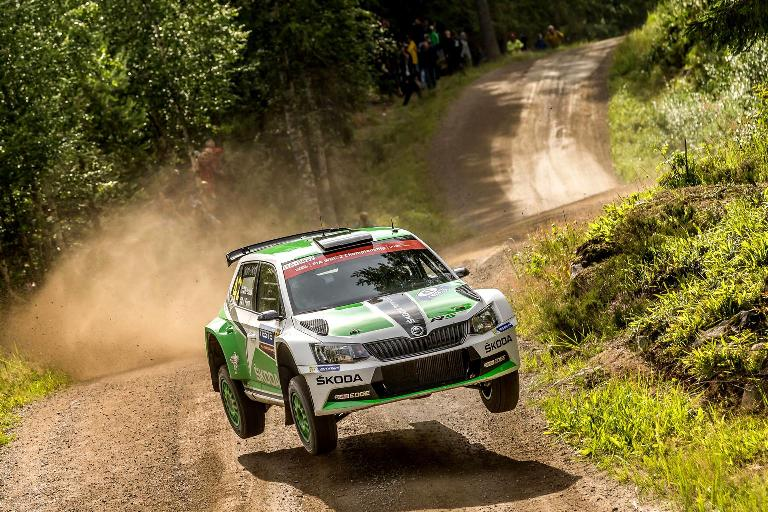 Lappi vince nel WRC2 in Finlandia