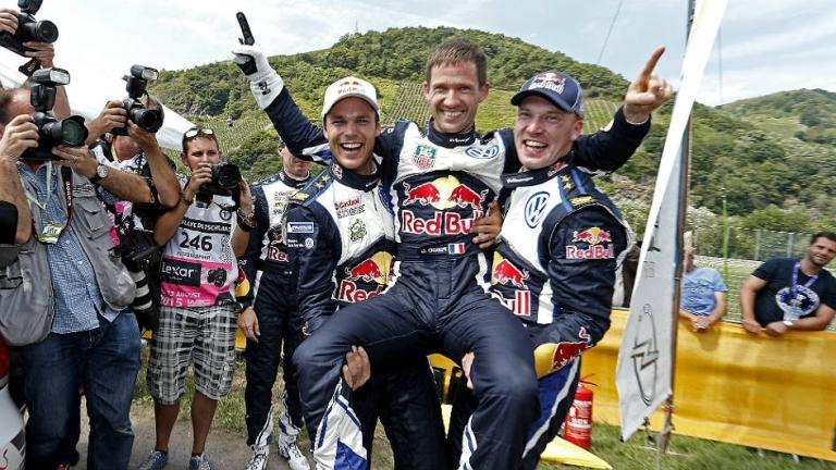 WRC – Ogier a mani basse in Germania