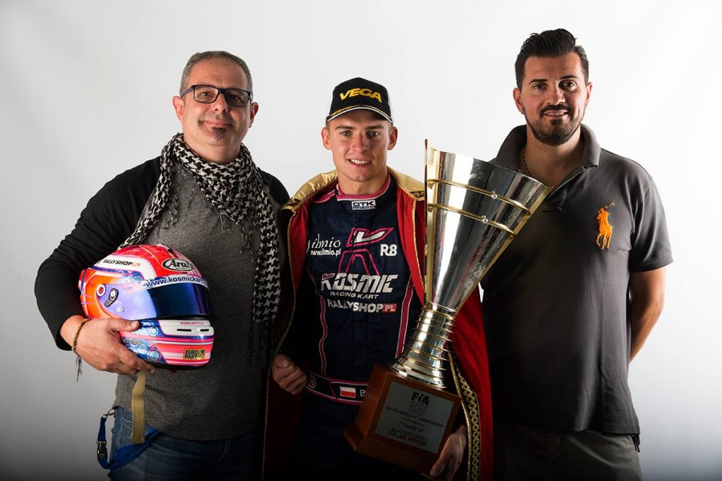 Karol Basz Campione del Mondo KF
