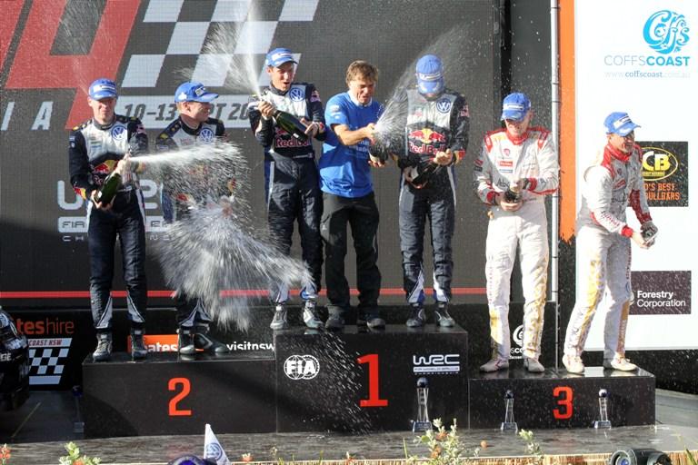 WRC – In Australia Citroën sul podio con Meeke