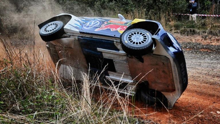 WRC – Ogier primo con brivido nello shakedown del Rally d'Australia