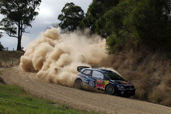 WRC – Ogier prende la testa in Australia