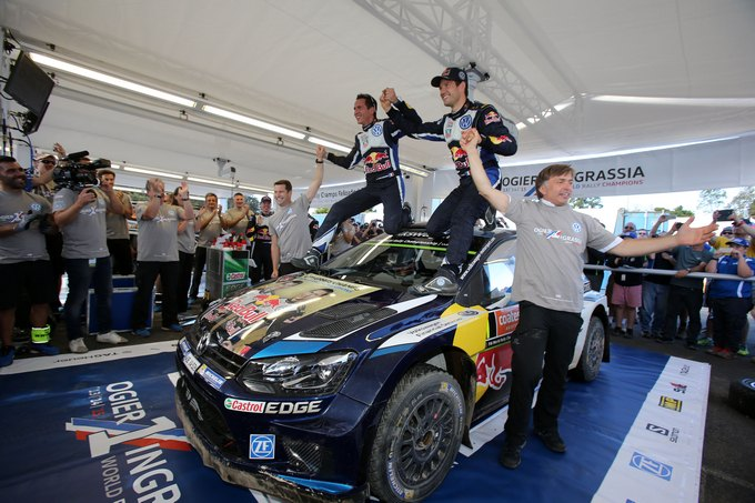 WRC – Ogier vince in Australia e incassa il terzo iride