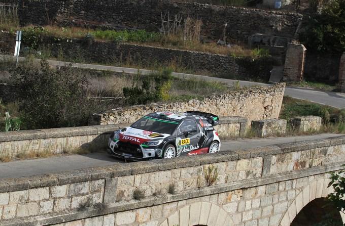 WRC – In Spagna nuova gara giù dal podio per la Citroen