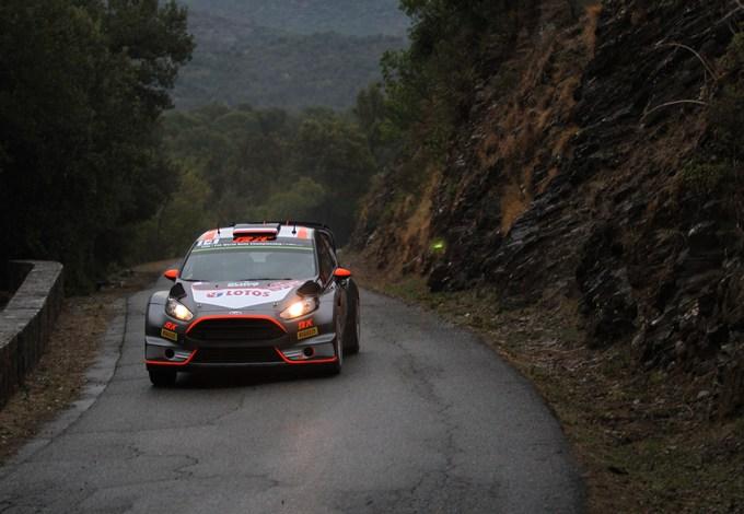 WRC – Kubica al top nello shakedown in Corsica